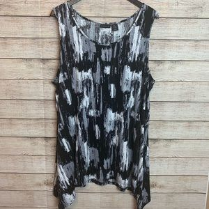 Tahari Sleeveless Tunic | NWT